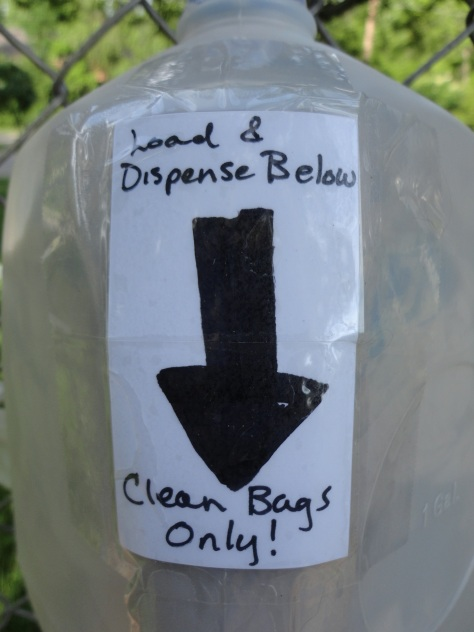 Dispenser-Label